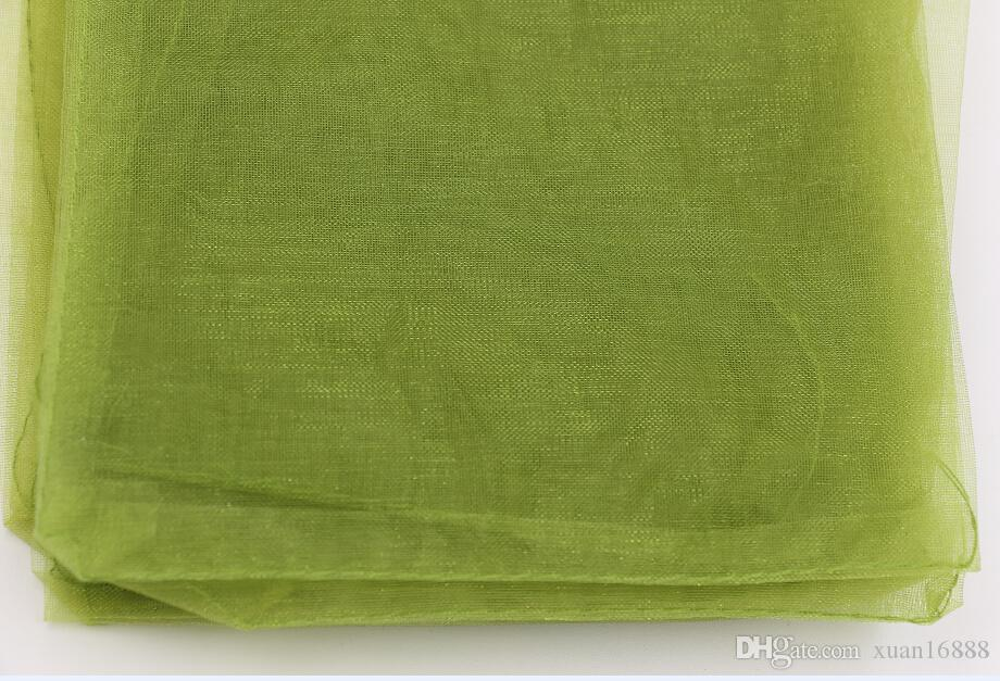 Горячее надувательство! Army Green Органза Ювелирные изделия Подарочные пакеты для свадебных сувениров, бисер, ювелирные изделия 7x9см 9X11см 13 х 18 см и т. Д. 365