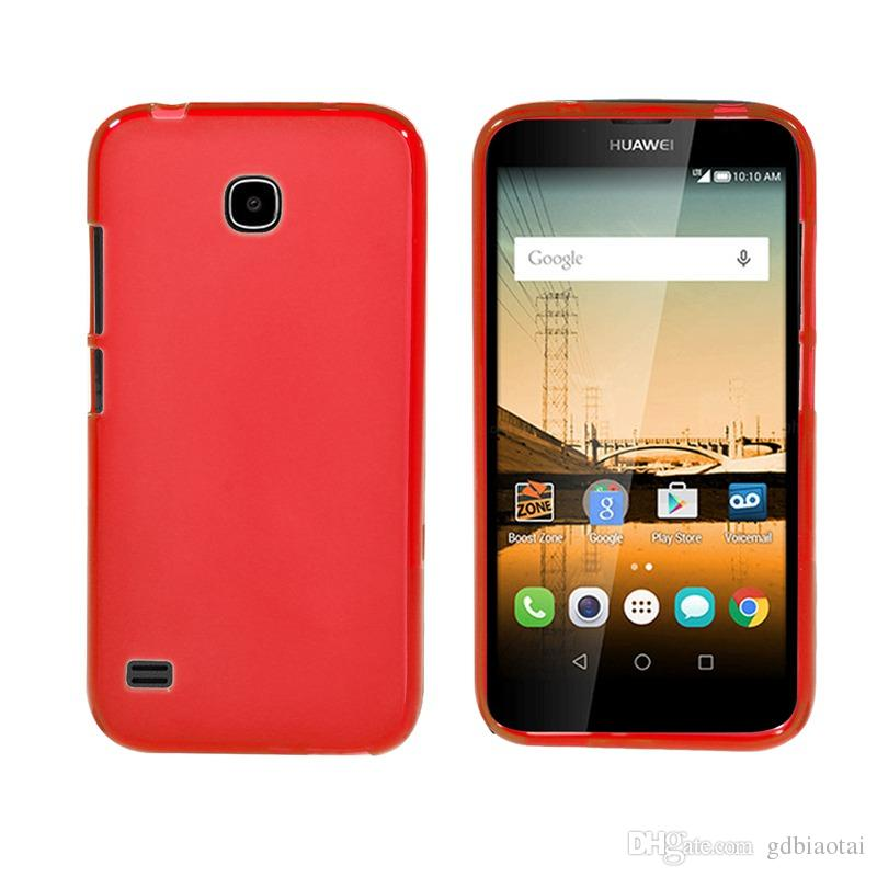 Hot Sale Cell Phone Case For HuaWei Y538 Ultra Thin Solid Color soft Luxury TPU Shockproof