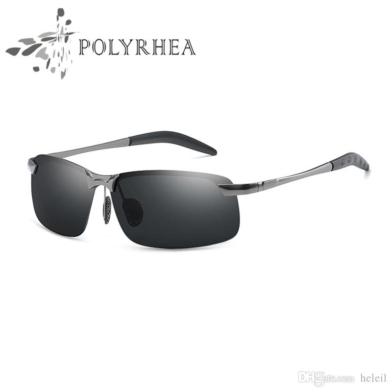 Großhandel 2018 Luxus Marke Designer Halbrahmen Männer Sonnenbrille ...