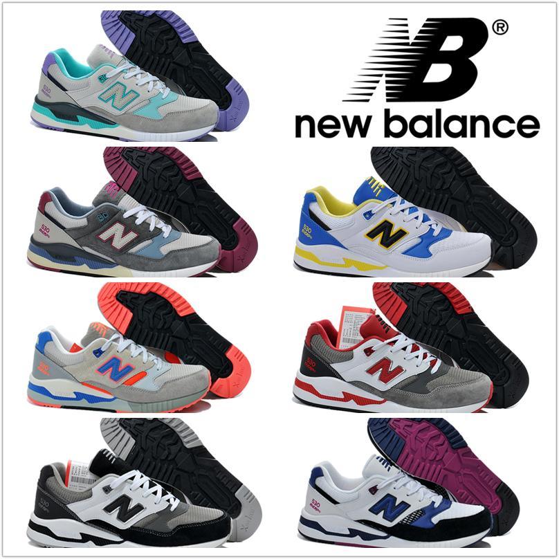 New Balance Hommes Femmes Chaussures de course NB 530 Sneakers Retro Bottes Athletic Casual Hommes Femmes Authentic Sport Shoes Expédition gratuite