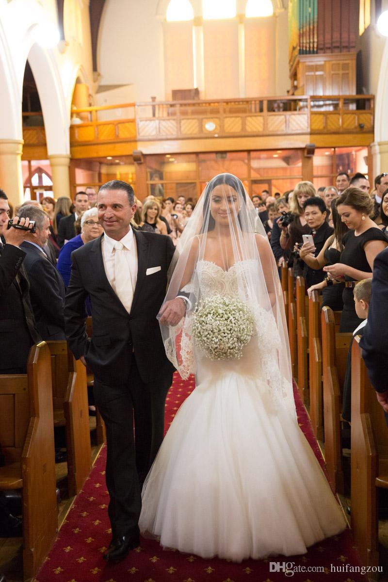Роскошные Реальные Изображения Свадебная Фата Два Слоя Кружева Аппликация Край Свадебная Фата На Заказ Длинная Соборная Длина 3 М Свадебная Фата