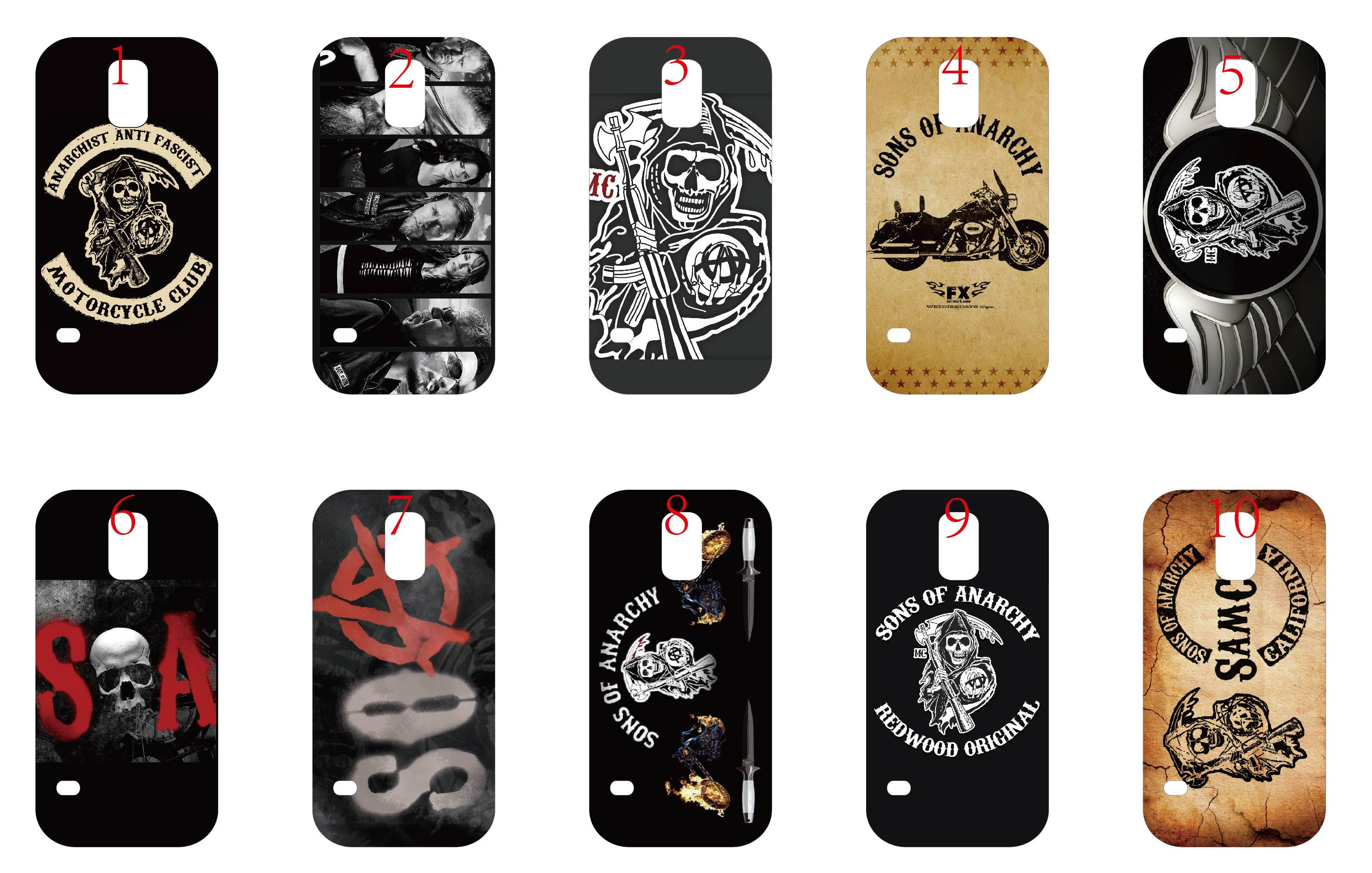 New design cell phone case for samsung galaxy s5 sons of for Design a case