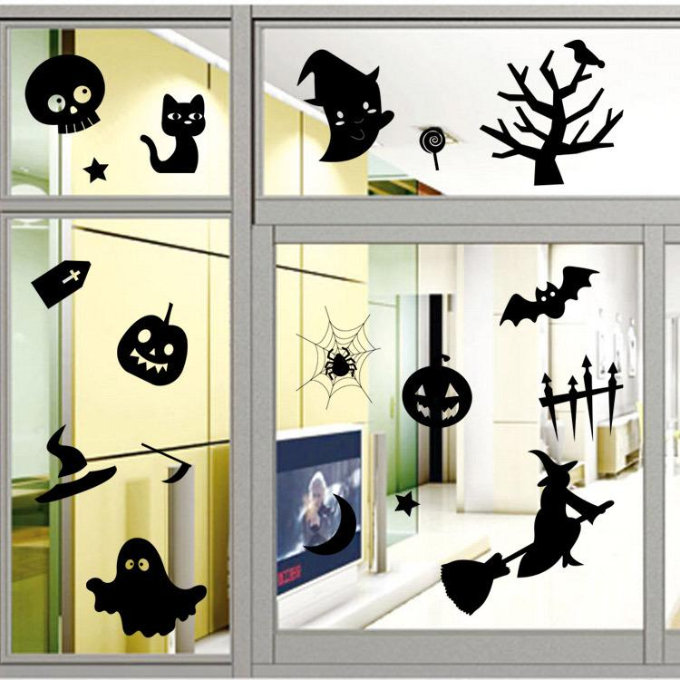 Halloween Wall Decor 2015 halloween party decoration home decor diy removable wall