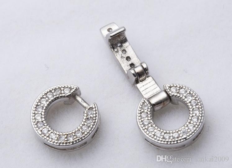 Оптовая красивая жемчужное ожерелье браслеты фитинг Цянь Хуэй жемчужное ожерелье браслеты застежка K 008