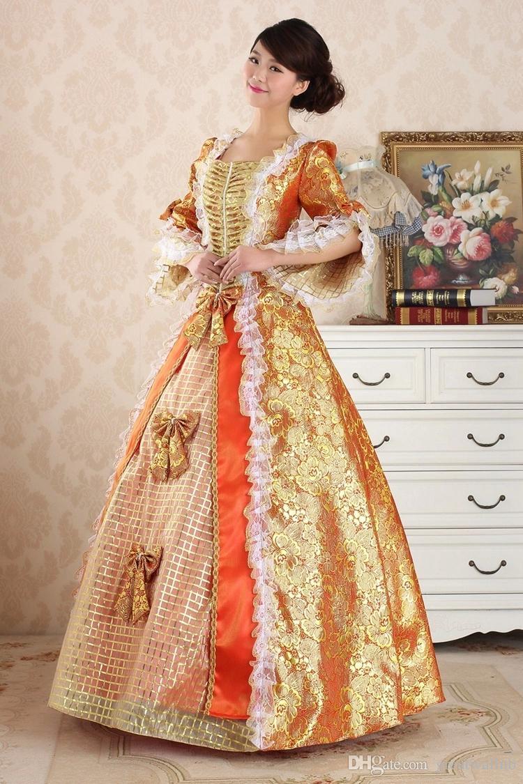 Freeship rot mittelalterlichen Renaissance Kleid Königin Kleid Vampir Kostüm Halloween Victorian Gothic / Marie Antoinette / Bürgerkrieg / Colonial Belle Ball