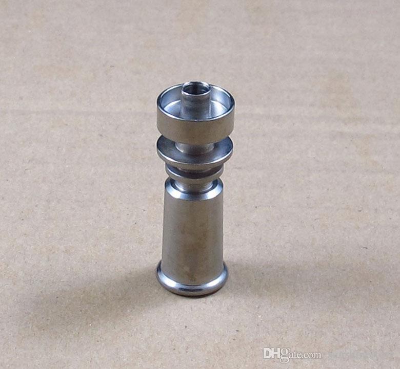 10MM weiblicher domeless Titannagel GR2 Ti Nägel Glasbongölanlage freies Verschiffen T04 und T09