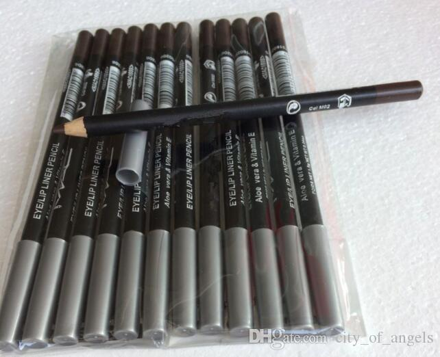 KOSTENLOSER VERSAND Best-Selling New Brand Make-up Eyeliner Lipliner Pencil Schwarz Braun Zwölf verschiedene Farben
