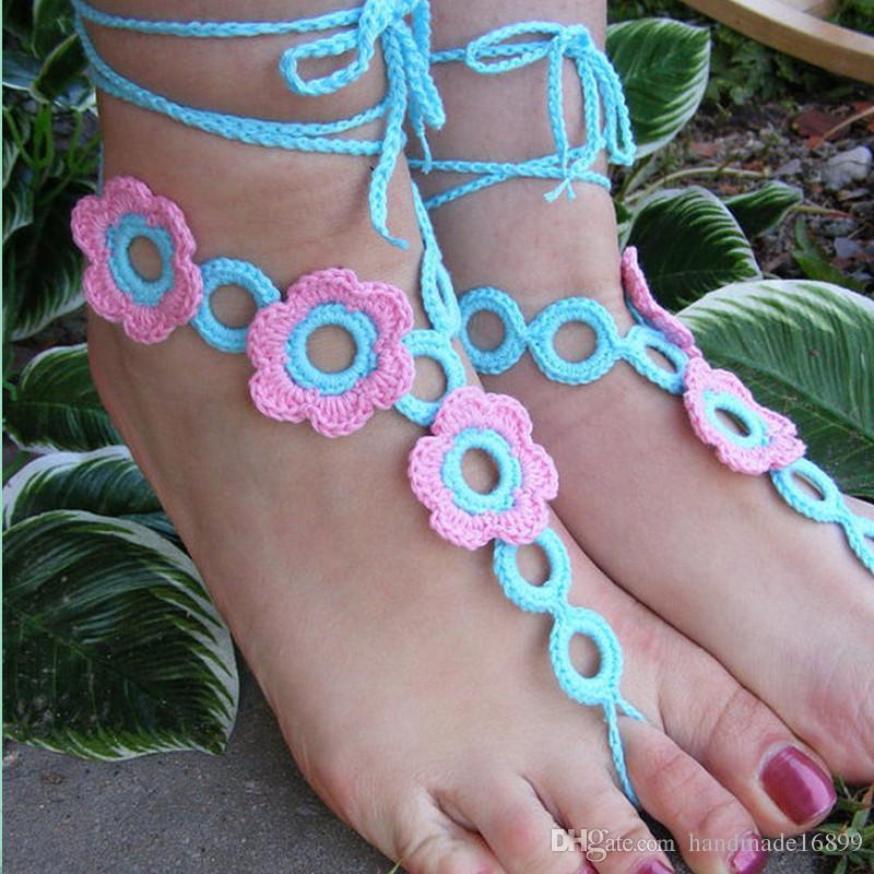 dea02596a8433 Compre Sandalias De Boda De Playa