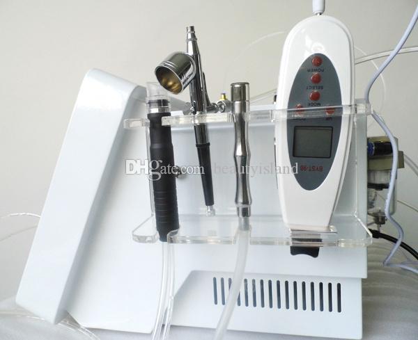 Hidra portátil Diamante Facial Microdermoabrasão Oxigênio Jet Peeling Ultrasound Purificador Da Pele Facial Diamond Peeling Máquina Para Cuidados Com A Pele