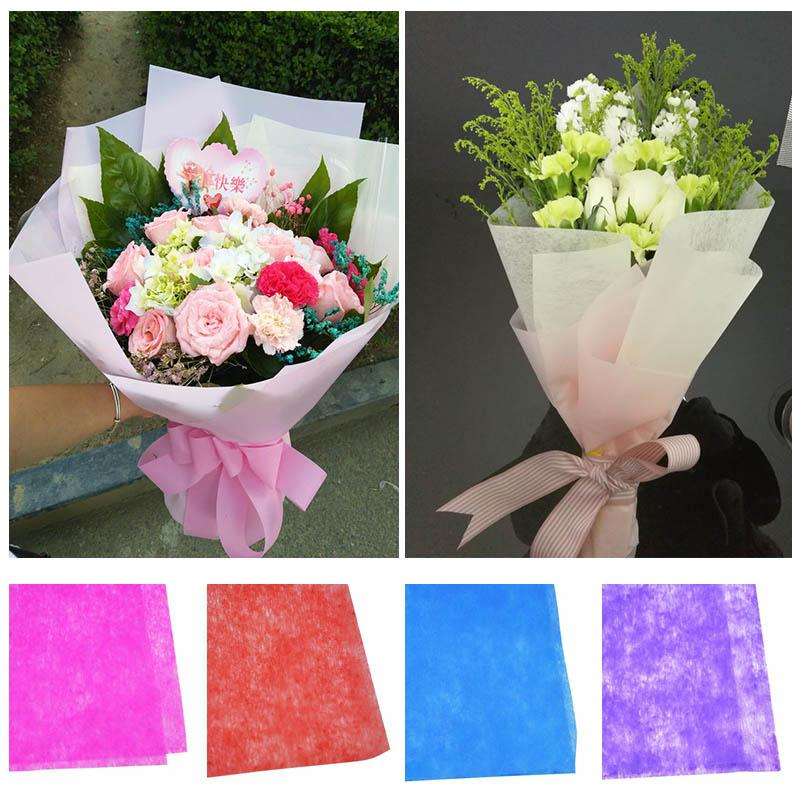 Multicolor Tissue Paper Flower Wrapping Paper Gift Packaging Craft