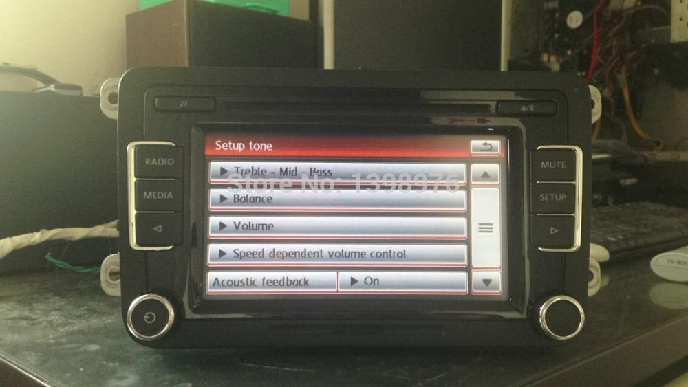 car dvd original rcd510 rcd 510 car radio usb ipod rear. Black Bedroom Furniture Sets. Home Design Ideas