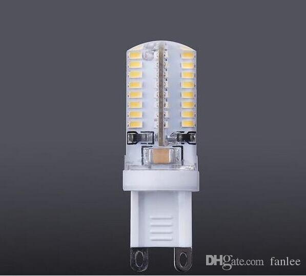G9 led 64 leds smd 3014 3w 200lm led corn lamps silicone bulbs Energy saving Warm / White 64 led
