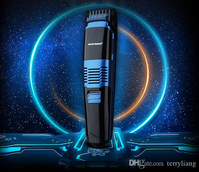 professional man vacuum beard trimmer electric hair removal mustache styling clipper IPX7 waterproof less mess shaver 10 size adjustable