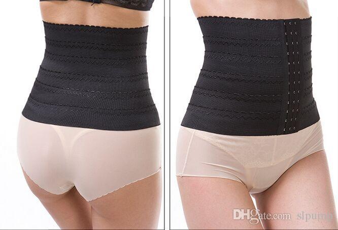 Vrouwen Taille Afslankende Riem Corset Rubber Nylon Trainer Afslanken Shapewear Training Corsets Cincher 3 Haken Body Tummy Shaper Bustier