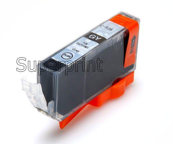 6 x INK Cartucce PGI-525 BK PGI525BK CLI-526 CANON PIXMA MG6100 MG6150 MG6250 STAMPANTE