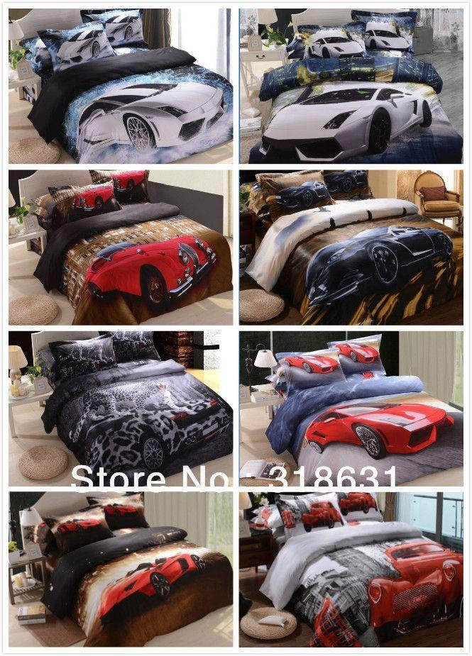 Shop Sheets & Sets Online, Hot New Listing Modern Fashion Sports ... : car quilt cover - Adamdwight.com