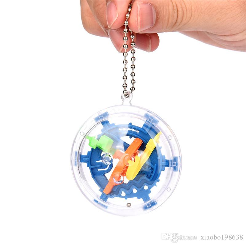 3D ماجيك المتاهة الكرة 30 مستويات الفكر الكرة المتداول الكرة لغز لعبة المخ دعابة التعليم الأطفال ألعاب تعليمية لعبة أوربت