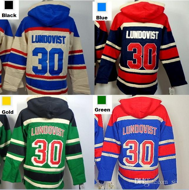 69b78386754 2016 New, Hot sale Mens New York Rangers Hoodie 30 Henrik Lundqvist ...  Henrik Lundqvist Green Hoodie Mens Old Time Hockey ...