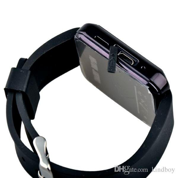 Yüksek kalite U8 Bluetooth Akıllı Izle U Saatler Kol Saati Smartwatch iphone 4 4 S 5 5 S Samsung S4 S5 HTC Android Telefon Akıllı Telefonlar