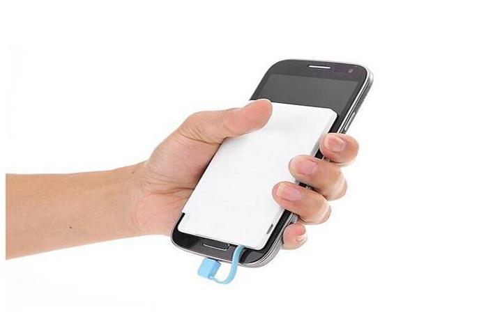 2600 mah cüzdan güç Bankası cep telefonu Için 2600 mAh Ultra Ince harici pil acil şarj Için promosyon powerbank cep telefonu