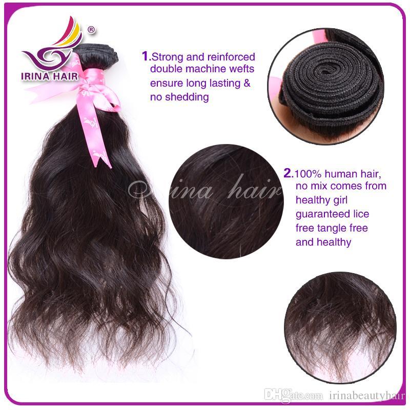 50%販売7A最高品質バージンブラジルのマレーシアのペルーのインドの髪の束の人間の髪織り自然波伸びヘアチナから