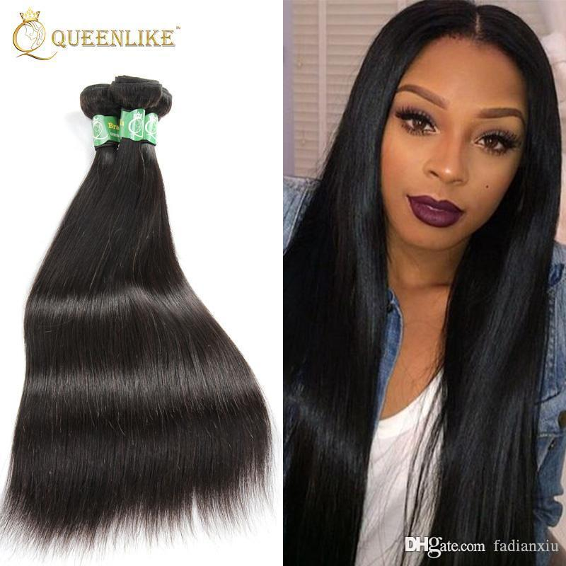 Malaysian Virgin Hair Weave 1 Bundles Silk Silky Straight 1b Sew In