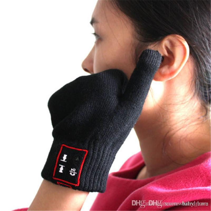 Bluetooth Gloves Hi-Fun Hi-Call Headset Speaker Bluetooth Magic Talking  Gloves Full Touch Glove For Moblie Phones ecbba41e5f04