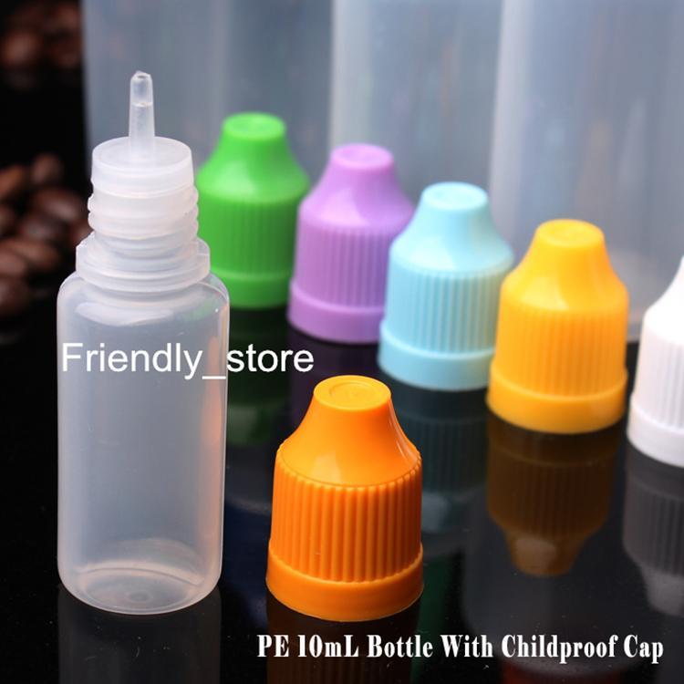 Soft Style 10ml LDPE Plastic Dropper Bottle E Cigarette Wholesale Child proof Liquid Bottles Juice Container For Eliquid