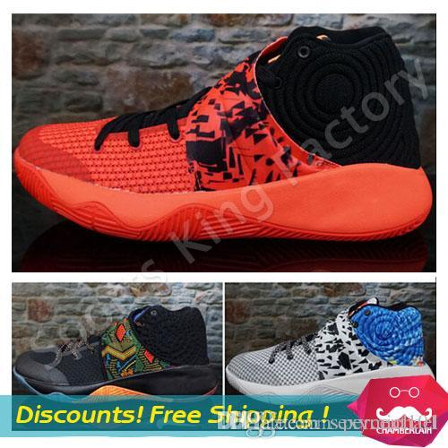 95b4025770f6c1 Kyrie 2 Basketball Boots BHM Christmas Effect Green Glow Oreo Basketball  Shoes Men Sports Shoes Kyrie Irving 2 Sneakers US7 12 Basketball Gear  Basketball ...