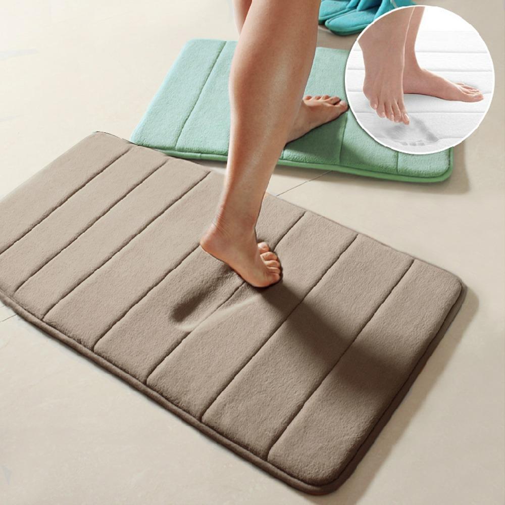Rebound Memory Foam Mat Carpet Floor Mat 40x60cm For Livingroom ...