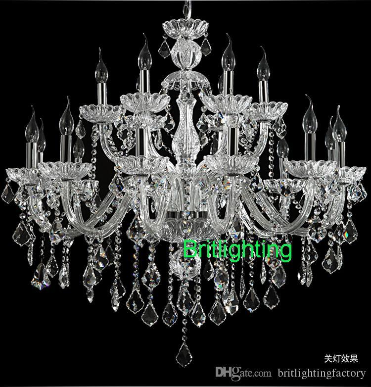 Modern kristal avize oturma odası led ev avizeler çift katmanlı avize mum yatak odası modern kristal aydınlatma avize kicthen