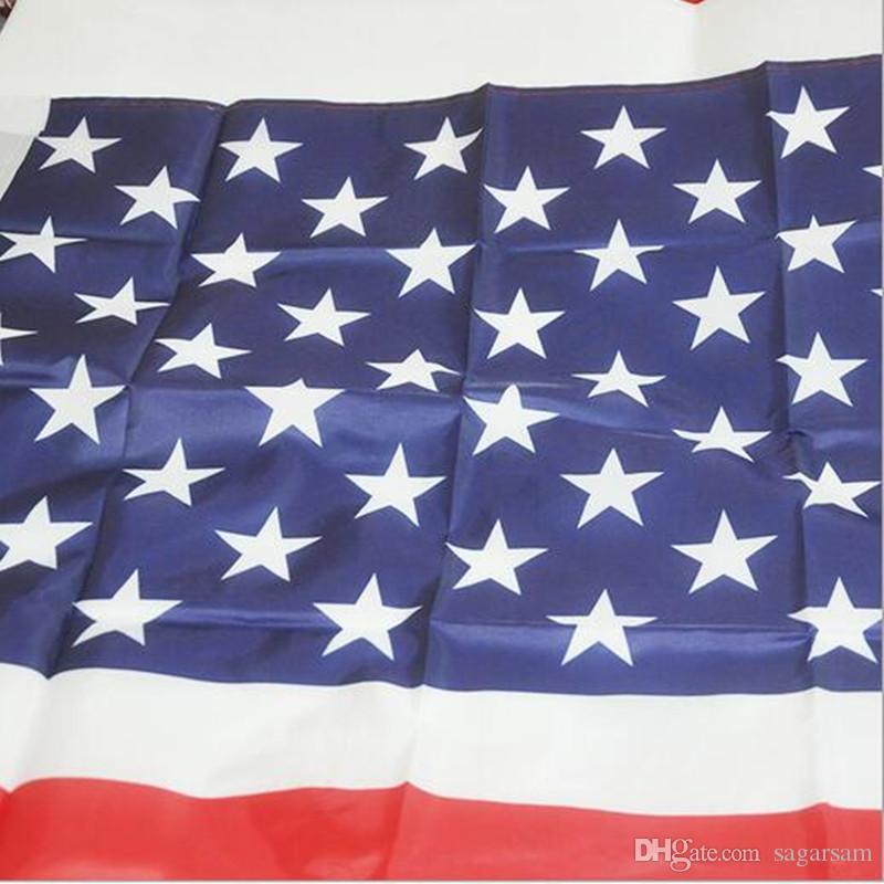 3 x 5 pouces environ 90 x 150 cm Drapeaux des Etats-Unis patriotisme en polyester