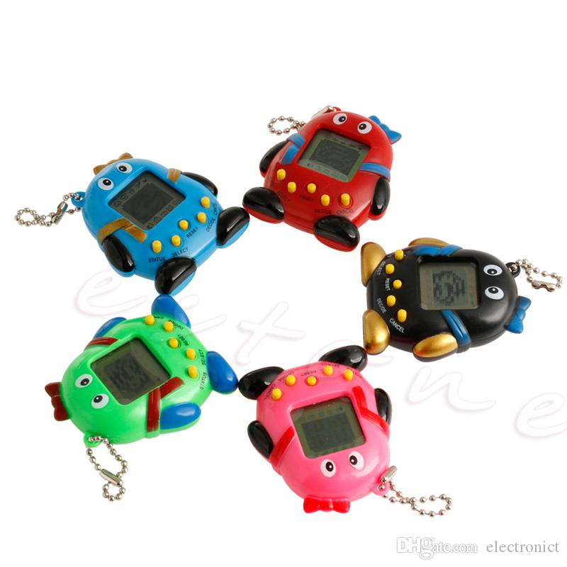 Hot Tamagotchi Electronic Snes Pets Toys Game Consoles 90S Nostalgic 168 Pets in One 5 Style Virtual Cyber Toy Tamagochi Penguins toy