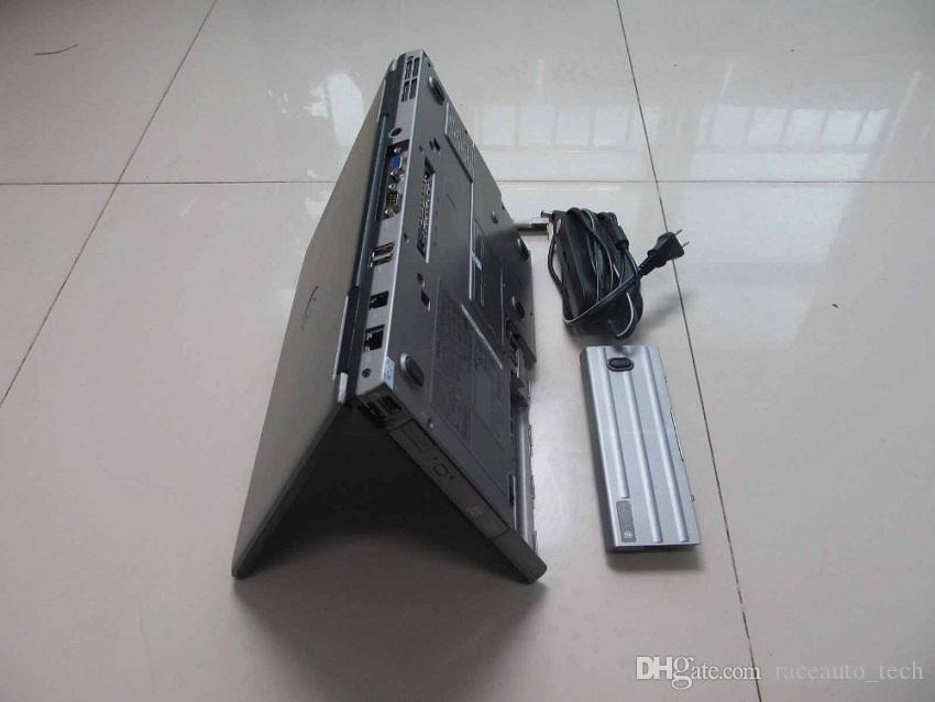 v10.53 alldata and mitchell installed in laptop for dell d630 hard disk 1000gb windows7 for car and truck diagnostic computer