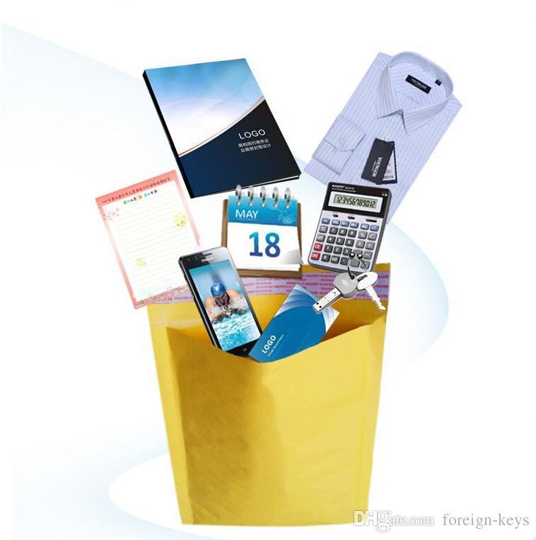 Wholesale Kraft Bubble Envelope Packaging Bag,180mmx200mm Bubble Padded Express Mailing Bag Gift Bag Bubble Cushioning Bag