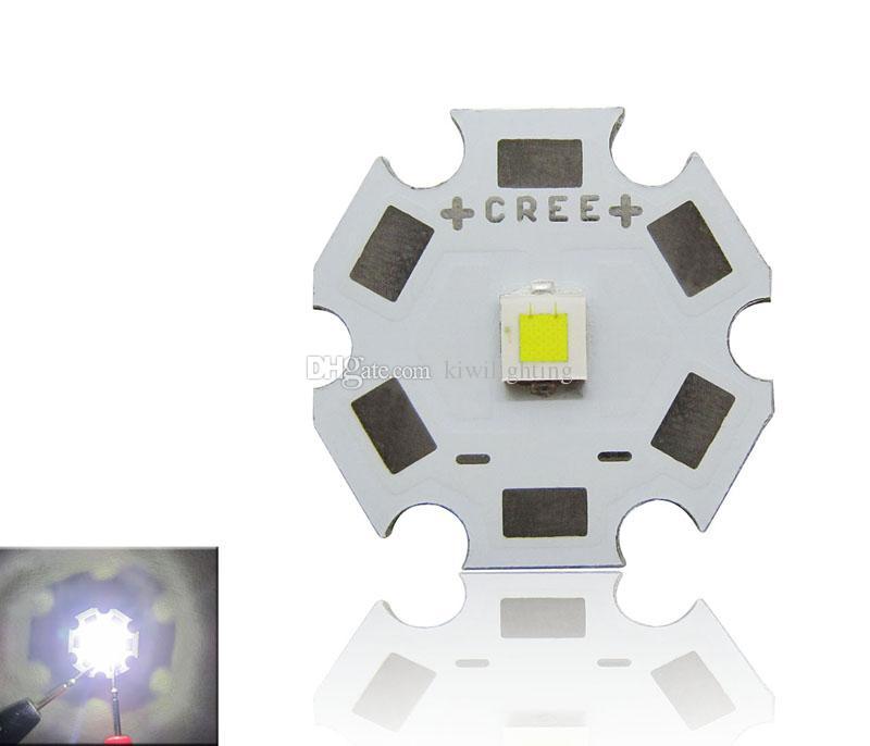 CREE XPL XP-L blanco / blanco cálido LED emisor de luz sin lente 20 mm 16 mm 14 mm 12 mm 8 mm PCB Board