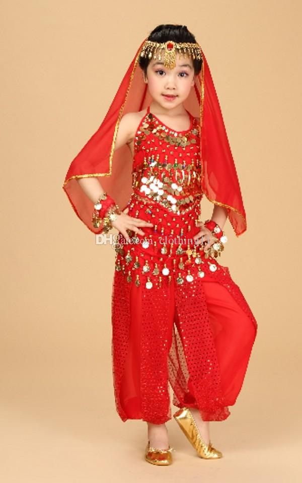 2019 Children In India Childrens Xinjiang Dance Costumes Dance
