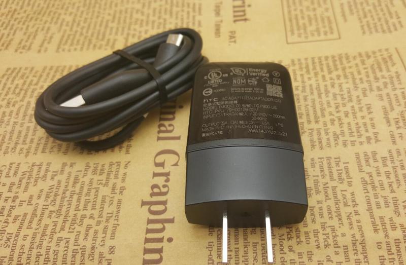 Caricabatteria alimentatore CA USB originale da 5V 1.5A TC P900-US con cavo micro USB HTC One X S V M7 M8 M9 One A9 Desire PW77