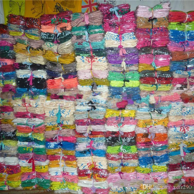 100 pièces en gros été prix bas coût femmes t-shirt à manches courtes stock rue stall femmes fille vêtements femme dames chemises