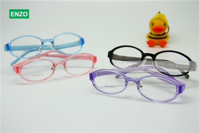 a5da59372fcd Flexible Kids Eyeglasses Size 48mm Silicone TR90, Boys Girls Glasses  Switchable Temples, Optical Children Glasses Stylish Eyeglass Frames  Unusual Eyeglass ...