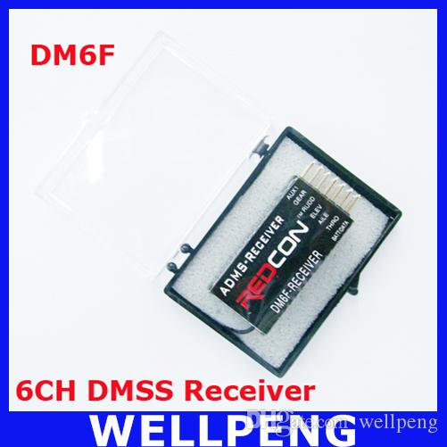 DM6F MICROLITE 6CH DMSS Receiver for JR XG6 XG7 XG8 XG11