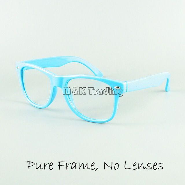 Kinder Eyewear Kinder Lustige Spielzeug Sonnenbrille Rahmen 12 Süßigkeiten Farben Keine Linse Mode Dekoration Brillen