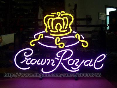 2017 Wholesale Neon Crown Royal Light Sign Handicraft #0: wholesale neon crown royal light sign handicraft