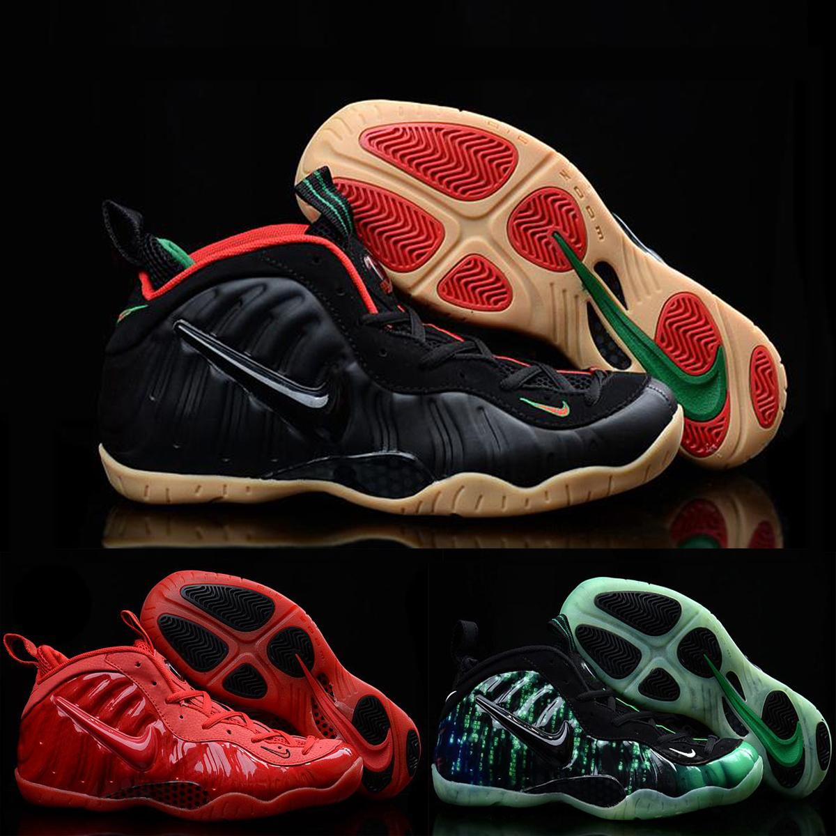 Nike Air Foamposite Pro Penny Hardaway Mens Basketball Shoes Black Green  Red White Original Air Foamposite One Shoes For Men Neakers Basketball  Games Tennis ...