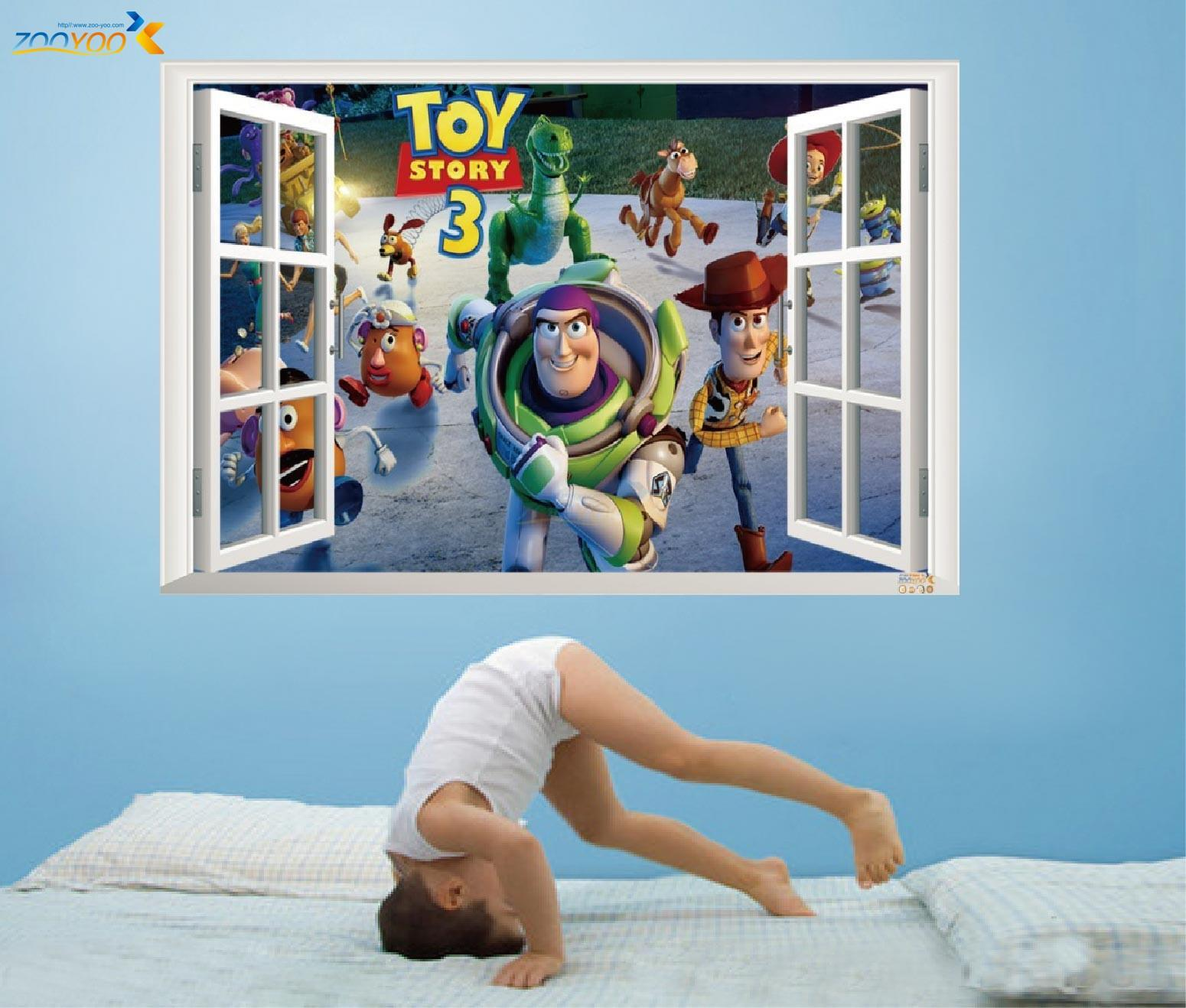 3d wall sticker madagascar cartoon children real animal world 3d wall sticker madagascar cartoon children real animal world false windows wall sticker dhl free shipping 50pcslot amipublicfo Image collections