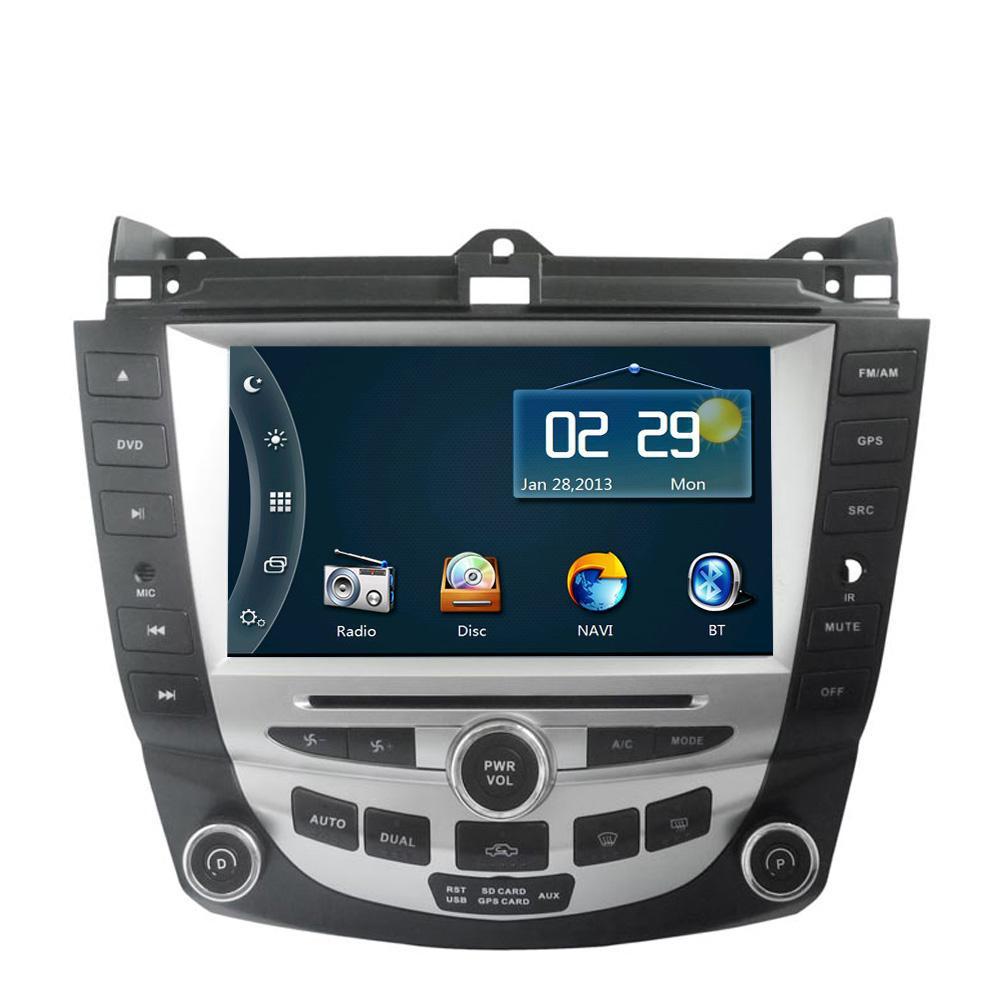 8 inch car dvd player gps navigation system for honda accord 2003