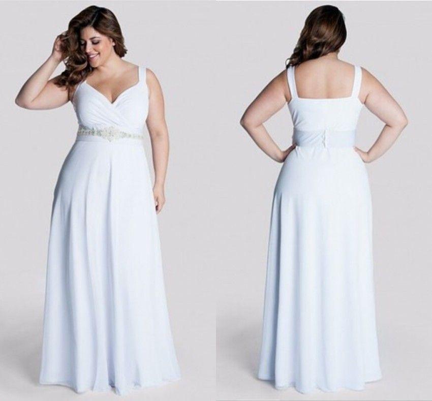 Großhandel 2016 Romantische Plus Size Brautkleider Beaded Bodice ...