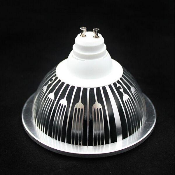 7 * 2W LED ES111 LIGHT QR111 LAMP GU10 14W LED AR111 100-240VAC Butiksbelysning Hög lumen Gratis Shippin