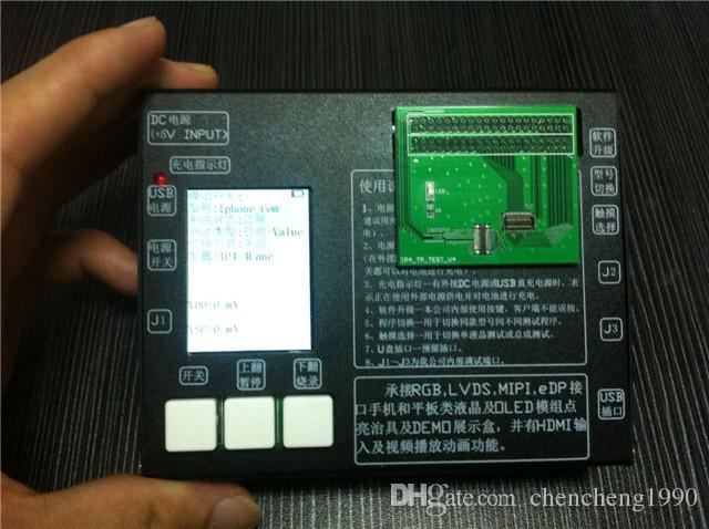터치 스크린 디지타이저 테스터와 함께 1 LCD 디스플레이에서 디스플레이와 함께 보드 테스트 프레임 아이폰 4 4S 5 5g 5s 5c 6 플러스 좋은 가격