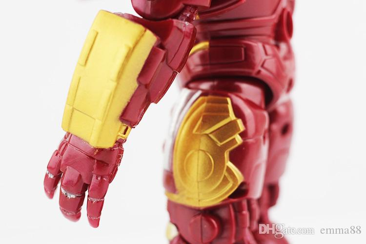 NEW The Avengers 2 Hulkbuster IronMan Hulkbuster PVC Action Figure Collectable Model Toy Brinquedos 14cm